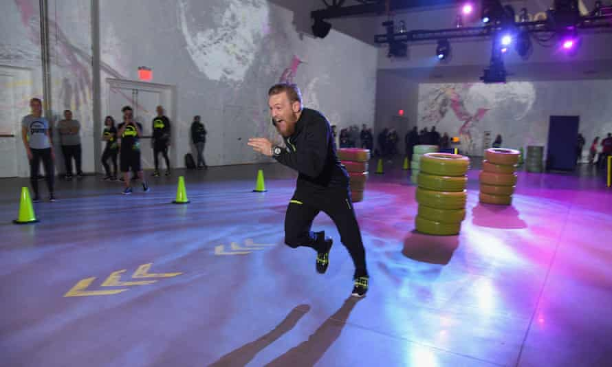 The Reebok pump launch in New York.