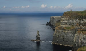 he west coast of Ireland (pictured, the Cliffs of Moher).