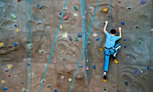 Rock climbing without ropes