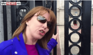 Sky News reporter Kay Burley live streams her 'royal tour' on Periscope