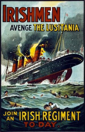 First world war Irish propaganda poster.