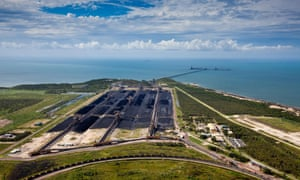 Abbot Point, surrounded by wetlands and coral reefs, is set to become the world's largest coal port should the proposal of coal terminal expansion go ahead