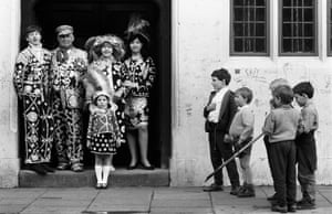 Pearlie Family, East London, 1977