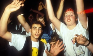The early days of rave.