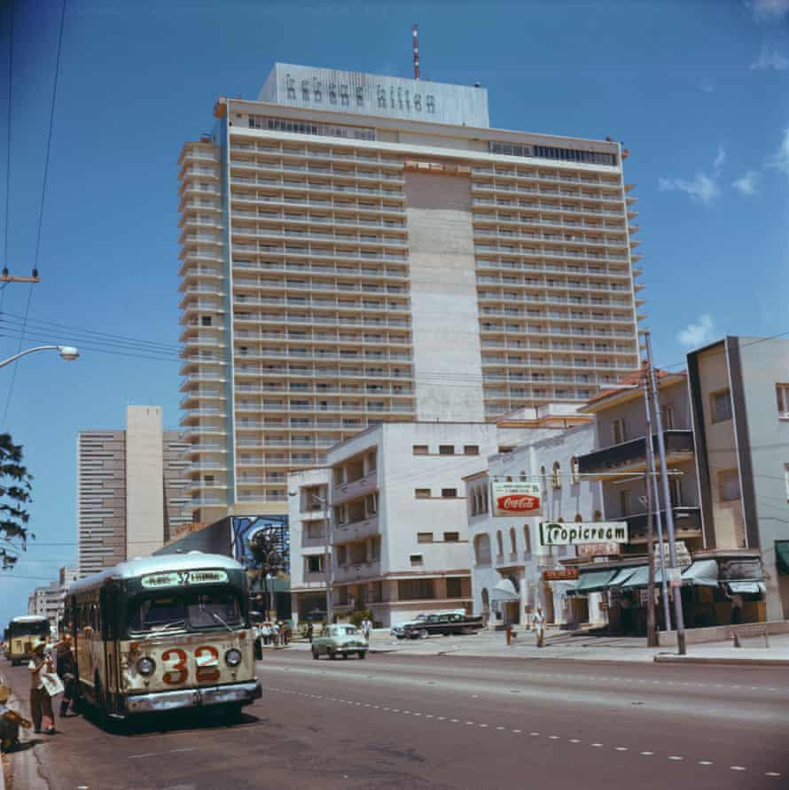 The Habana Hilton was taken over by the state and renamed in 1960.