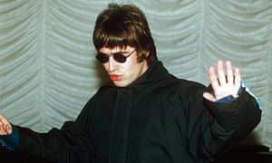 """Liam Gallagher in 1995. 'Gallagher tweeting his opinion that Blur's Lonesome Street was """"song of the year"""" was the kind of statement that would have seemed preposterous then.' Photograph: Rex"""