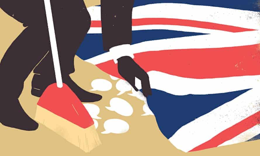 Sebastian Thibault illustration about stifling the political debate