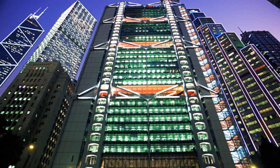 The HSBC building in Hong Kong. Photograph: Steve Vidler/Alamy
