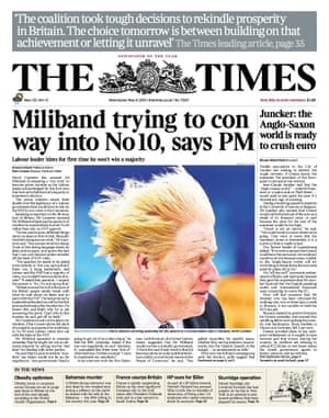 The Times warns of Labour trying to 'con' its way into No 10