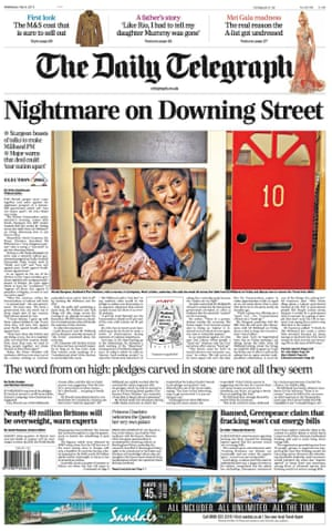 The Telegraph claims a Labour-SNP coalition will be a 'nightmare'