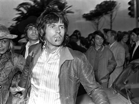 Cannes, France, 20th May 1971, Guitarist with British pop group