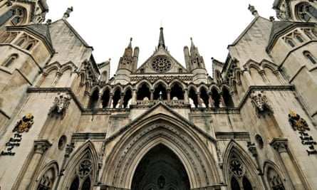 The high court on the Strand, London.