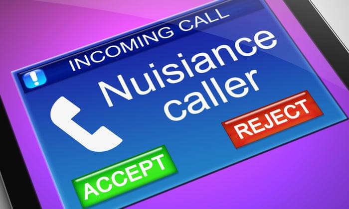 nuisince caller
