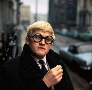 David Hockney in 1966
