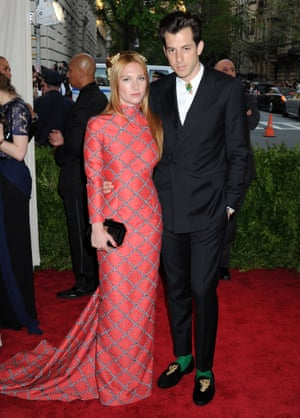 Josephine De La Baume and Mark Ronson at the Met Ball, in Topshop
