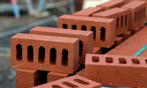 Bricks on a construction site.
