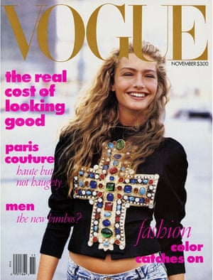 Wintour's favourite Vogue cover – the November 1988 issue.