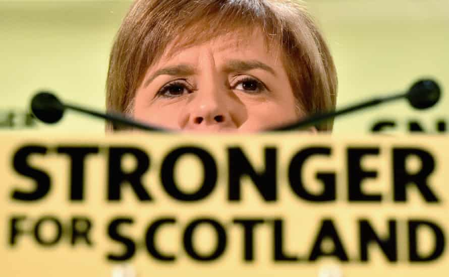 SNP leader and first minister Nicola Sturgeon