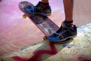 Feet Bethlehem skatepark