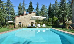 Origano villa in Chianti with rectangular pool