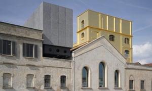 Fondazione Prada campus in Milan, designed by OMA.