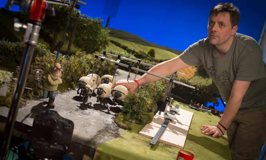 Behind the scenes of the Shaun the Sheep Movie