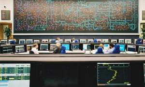 National Grid control room