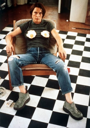 Self-portrait with Fried Eggs, 1996.