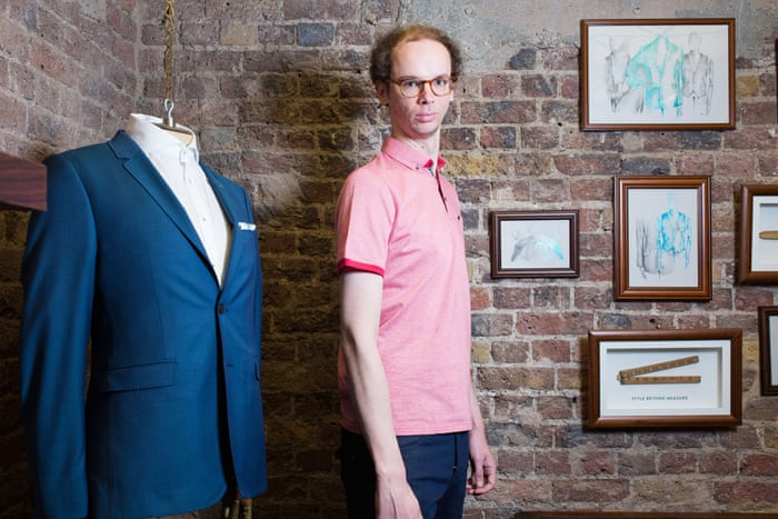 Tall order: the difficulty of dressing when you're 6ft 7in