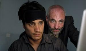Gael Garcia Bernal and Kim Bodnia In Rosewater.
