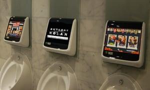 Urinal advertising