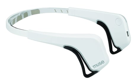 Heads up: the Muse is a sensor-laden headband that syncs neural activity to a phone app.