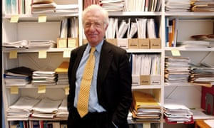 Professor Lord Richard Layard at the London School of Economics.