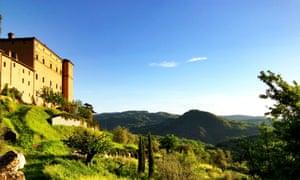 Castello di Potentino, near Montalcino, Tuscany