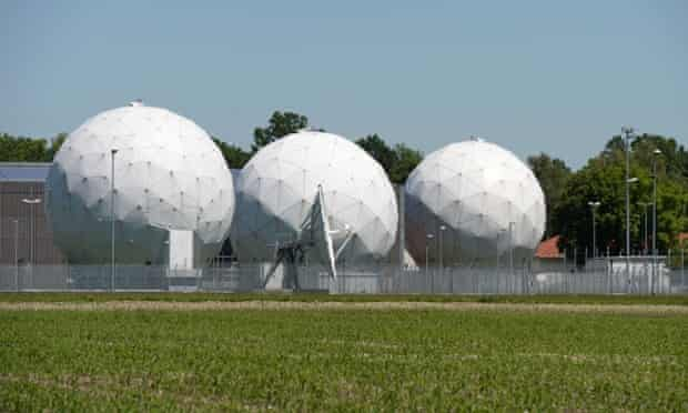 Bad Aibling monitoring base in Bavaria. Officially, the US withdrew its operations there in 2004.