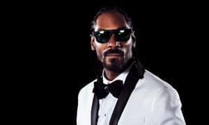 Sleazin' and steezin' … Snoop Dogg