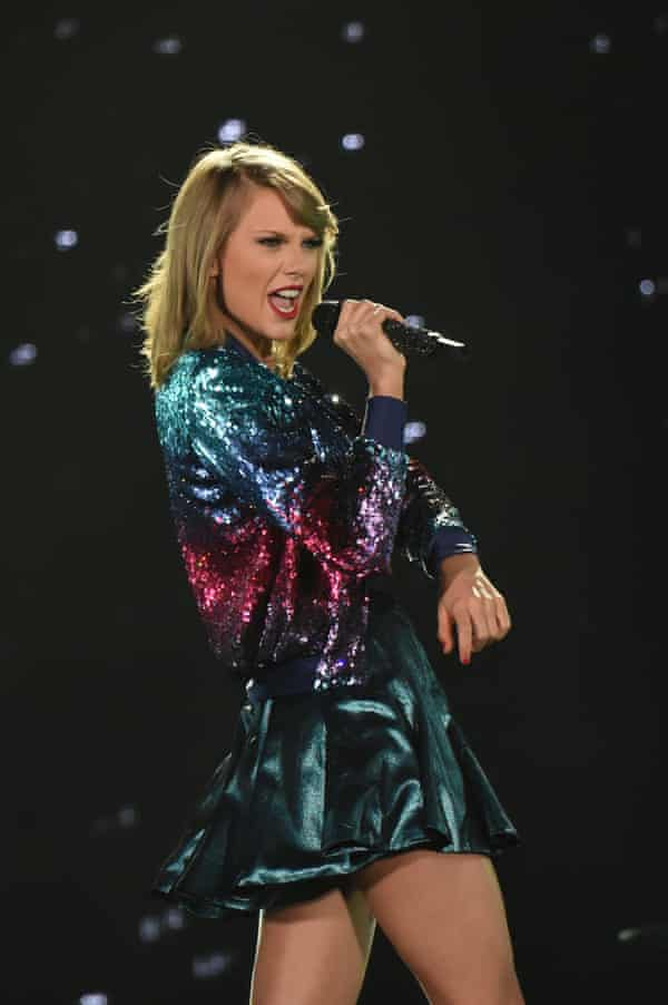 An outright spectacle ... Taylor Swift in Tokyo.