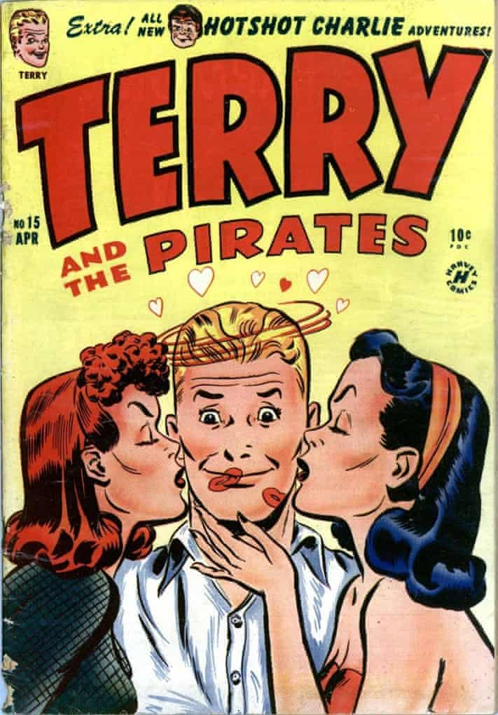 Cover of Terry and the Pirates.
