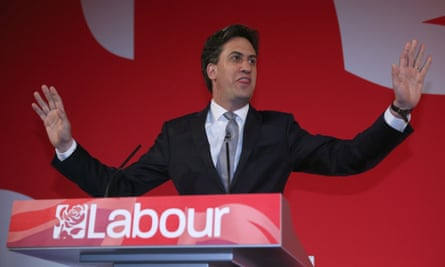 Labour leader Ed Miliband speaks during a campaign rally at Leeds City Museum on the last day of campaigning.