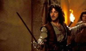 'My name is Inigo Montoya'... A still from the wonderful film adaptation of The Princess Bride.