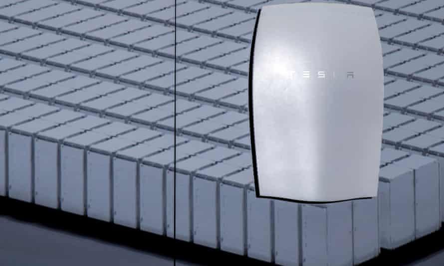 Tesla's Powerwall home battery unit
