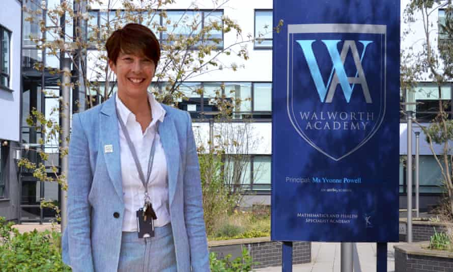 Headteacher, Yvonne Powell