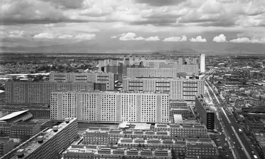The Mario Pani-designed Tlatelolco complex in 1964.