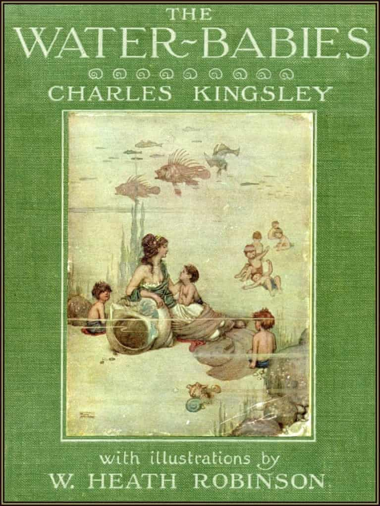 Water-Babies edition with cover by W Heath Robinson.