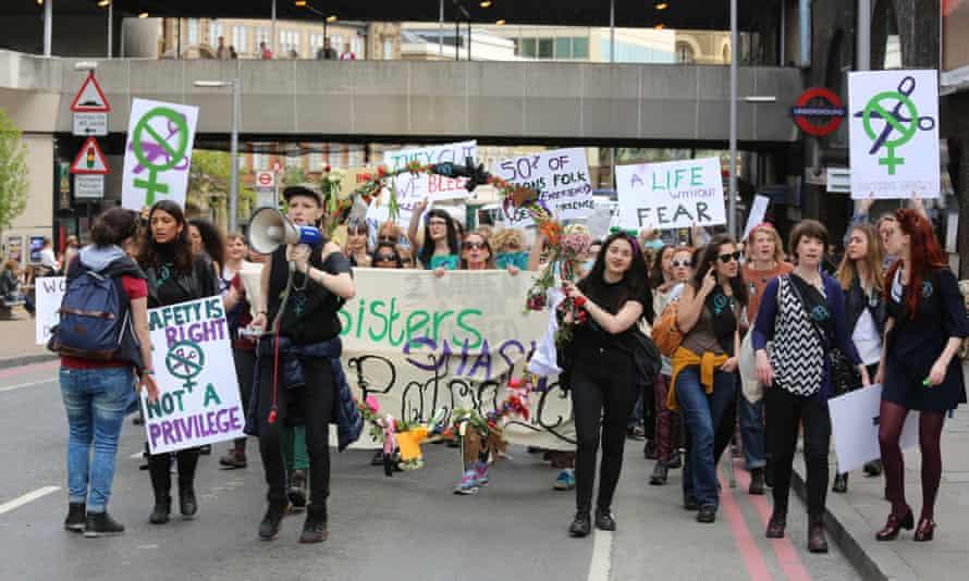 Sisters Uncut protest