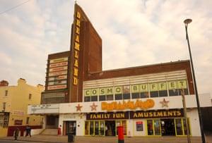 Margate's Dreamland amusement centre.
