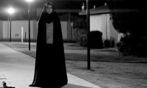 The cape-like chador inspired Amirpour to make a vampire film.