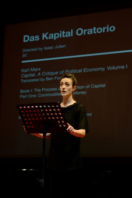 Isaac Julien's Das Kapital at Venice Biennale