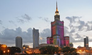 Started in 1952, the Palace of Culture and Science was a cornerstone of the Warsaw to come.
