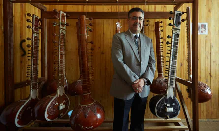 Dr Ahmad Sarmast, the music professor who founded the Afghanistan National Institute of Music